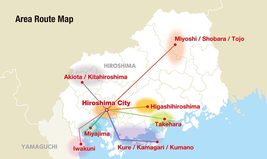 Visit Hiroshima Tourist Pass Bus Night Bus Booking in Japan Willer
