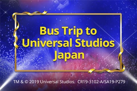 Bus Trip to Unviersal Studios Japan