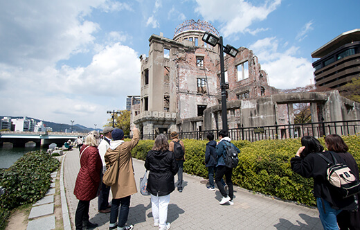 Hiroshima Peace (Heiwa) Walking Tour at World Heritage Sites