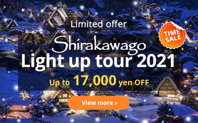 Shirakawago Light-up Tour